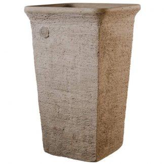 Kő kaspó, virágtartó kőből - Adonisz L