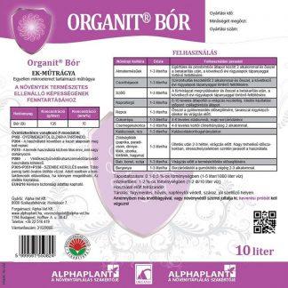 Organit Bór lombtrágya - 10 liter