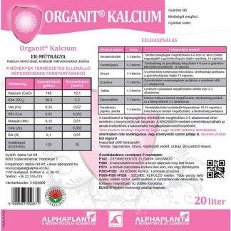 Organit Kalcium - 20 liter