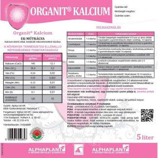 Organit Kalcium lombtrágya -5 liter