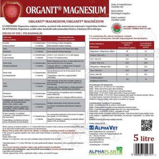 Organit Magnezium - 5 liter