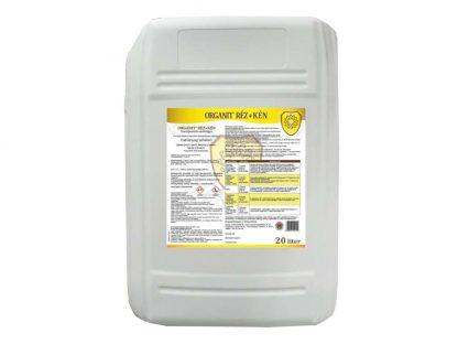 Organit Réz+Kén lombtrágya - 20 liter
